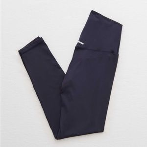 Aerie Play 7/8 Active Leggings - Navy Blue